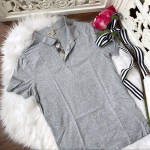 Burberry Brit Grey Womens Polo Shirt